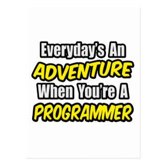 Diario un programador de la aventura… postales
