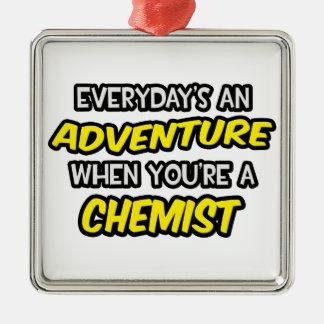 Diario un químico de la aventura… adornos de navidad