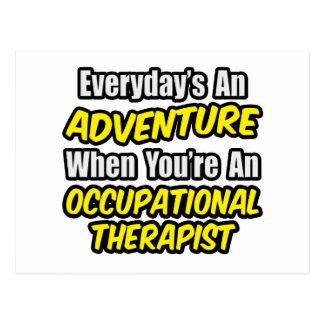 Diario un terapeuta de Occu de la aventura… Postales