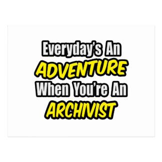 Diario una aventura. Archivista Postales