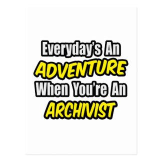 Diario una aventura. Archivista Tarjetas Postales