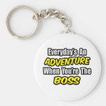 Diario una aventura… Boss Llavero Personalizado
