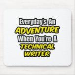 Diario una aventura. Escritor técnico Alfombrillas De Ratones