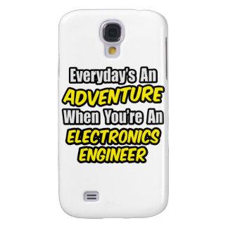Diario una aventura. Ingeniero electrónico Carcasa Para Galaxy S4