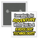 Diario una aventura. Tecnología radiológica Pin