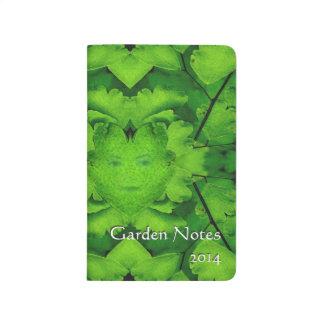Diario virginal del jardín de Mandela del helecho Cuadernos