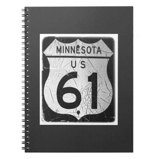 Diarios de Minnesota Libro De Apuntes Con Espiral