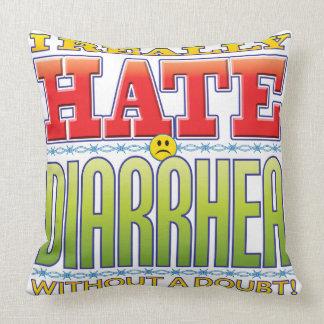 Diarrhea Hate Face Pillows