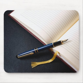 Diary book mouse pad