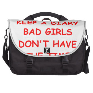 DIARY LAPTOP MESSENGER BAG