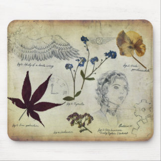 Diary of a Botanist Mouse Pad