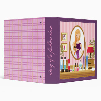 Diary of A Fashion Diva 3 Ring Binder