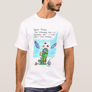 Diary Of A Scary Monster 7 T-Shirt