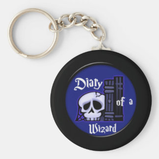 Diary of a Wizard Keychain