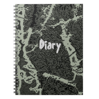 Diary Spiral Notebook