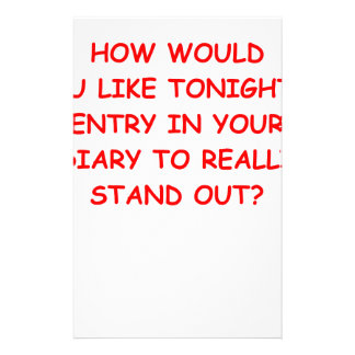 diary stationery