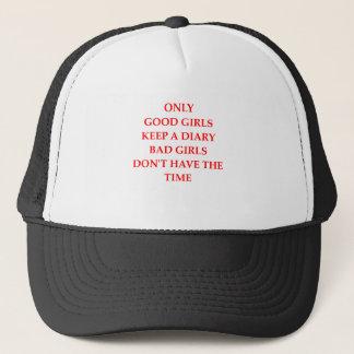 DIARY TRUCKER HAT