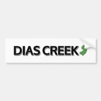 Dias Creek, New Jersey Bumper Sticker