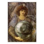 Días de 1r día de la creación, Burne Jones, arte Tarjeta De Felicitación