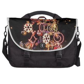 Días de fiesta brillantes bolsas de portátil