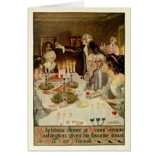 Días de fiesta coloniales de Gualterio Tittle Tarjeta De Felicitación