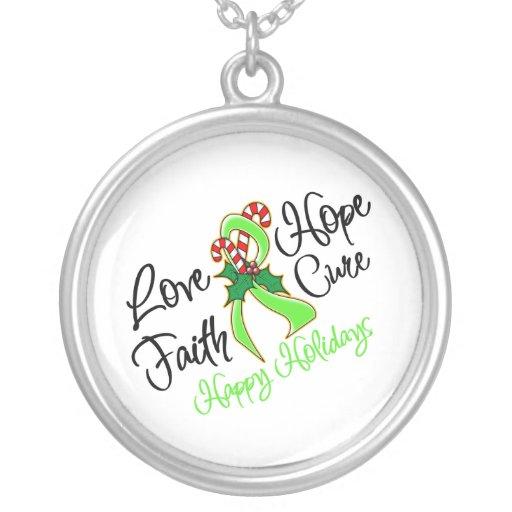 Días de fiesta de la esperanza del amor del linfom grimpola personalizada