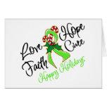 Días de fiesta de la esperanza del amor del tarjeta de felicitación