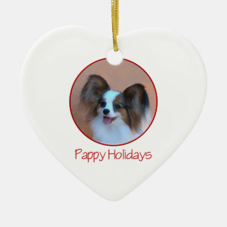 Días de fiesta de Pappy (2) Ornamento De Navidad