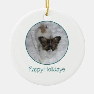 Días de fiesta de Pappy (3) Ornamentos De Navidad