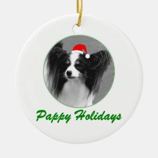 Días de fiesta de Pappy Ornamento Para Arbol De Navidad