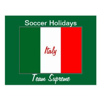 Días de fiesta del fútbol de Italia Tarjetas Postales