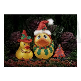 ¡Días de fiesta Ducky! Tarjetas