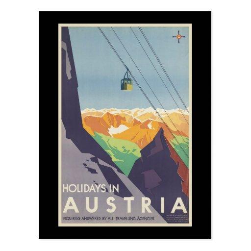 Días de fiesta en Austria Postal
