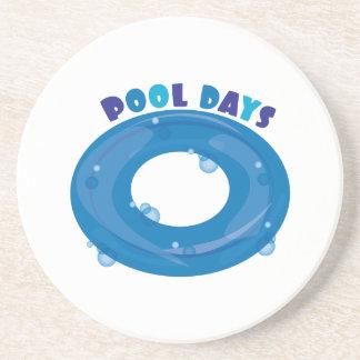 Días de Innertube_Pool Posavasos Para Bebidas