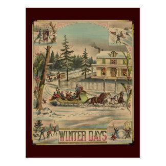 Días de invierno postal