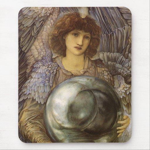 Días de la creación, primer día de Burne Jones Mousepad