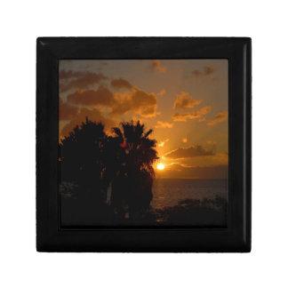 Días de la gloria de la puesta del sol cajas de regalo