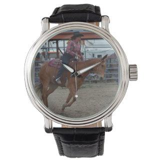 Días de la mula de Montana Reloj De Mano