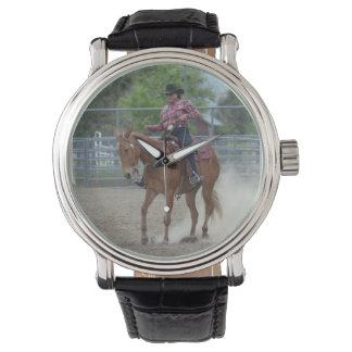 Días de la mula de Montana Relojes De Pulsera