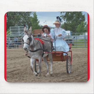 Días de la mula de Montana Tapetes De Ratones