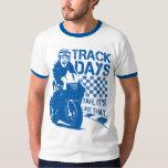Días de la pista - es como ése. (azul) camisas