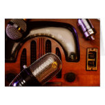 Días de radio tarjeta de felicitación