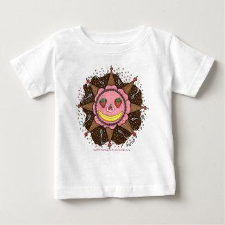 Días de Sun de la fresa - niños T casual (blancos) Tshirts