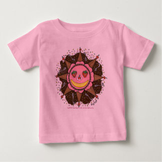 Días de Sun de la fresa - niños T casual (rosa) T Shirts