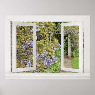 Días de verano - opinión de ventana abierta con gl póster