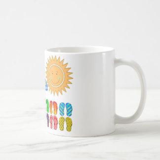 Días de verano perezosos taza de café