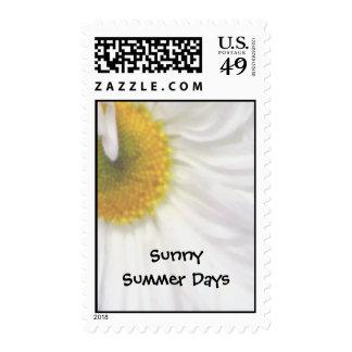 Días de verano soleados sellos