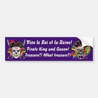 Días del contrabando del pirata de Luisiana 30 col Pegatina Para Auto