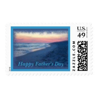 Días del Día-Océano del padre feliz Sello Postal