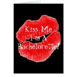 Días del fiesta de Bachelorette I Tarjeta De Felicitación